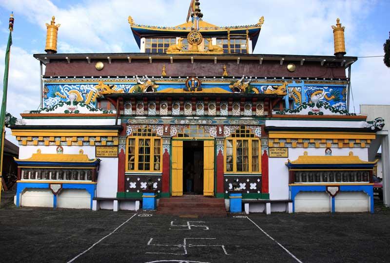 Bhutia Busty Gompa Darjeeling
